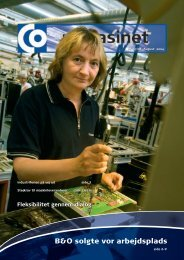 B&O solgte vor arbejdsplads - CO-industri