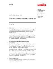 Bilag 2 Vurdering af forøget indvinding af grundvand