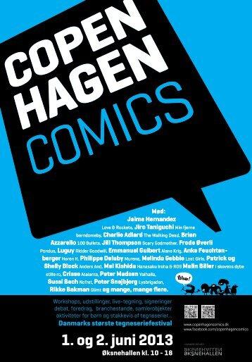 Copenhagen Comics 2013 program
