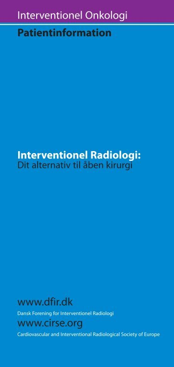 Interventionel Onkologi - CIRSE.org