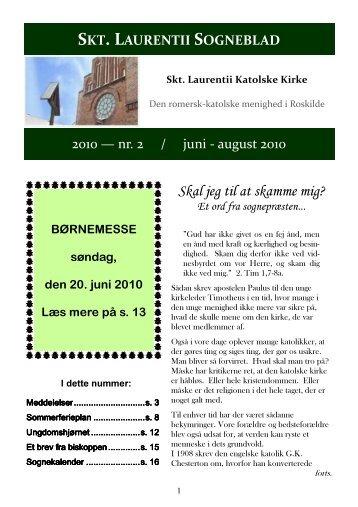 Sogneblad 2010-2 - Sankt Laurentii Kirke
