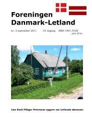 Blad nr. 3 - 2011 - Foreningen Danmark - Letland