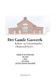 Det Gamle Gasværk. Kultur - detgamlegasvaerk.dk
