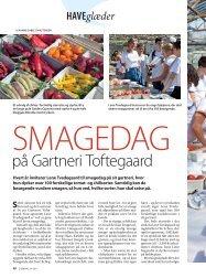 på Gartneri Toftegaard - Hanne Gabel Christensen