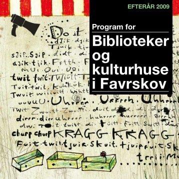 Favrskov, Efteraar 2009 - Centralbibliotek