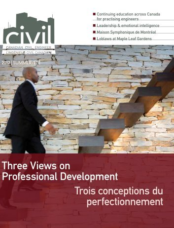 2012 Summer issue vol 29.3 - Canadian Society for Civil Engineering