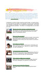 Dette er en serie artikler, som er skrevet i 2004, da ... - Arla.com