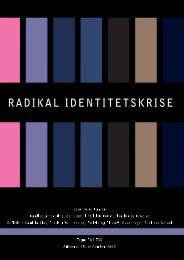 Kandidatafhandling - Radikal Identitetskrise - Kommunikationsforum