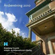 Årsberetning 2010 - Bispebjerg Hospital