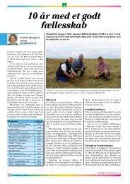 7. 10 år med et godt fællesskab - DLF-TRIFOLIUM Denmark