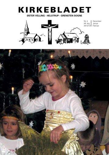 Kirkeblad november 2012 - Øster Velling - Helstrup - Grensten ...