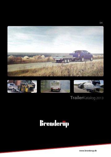 Brenderup Trailerkatalog 2013