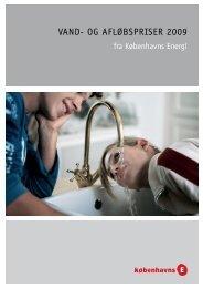 VAND- OG AFLØBSPRISER 2009 - hofor