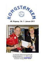 48. Årgang - Nr. 1 - januar 2011 - Gladsaxe Kano & Kajakklub