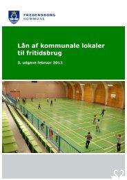 Lån af kommunale lokaler til fritidsbrug - Fredensborg Kommune