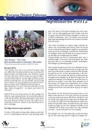 Nyhedsbrev #0912 - Odense Centralbibliotek