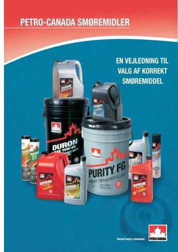 Petro-Canada motorolier til personbiler - FERRO-BET