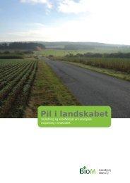 Pil i landskabet – vejledning og anbefalinger om ... - AgroTech