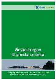 Øcykelfærgen til danske småøer - Cykeløerne i Smålandshavet