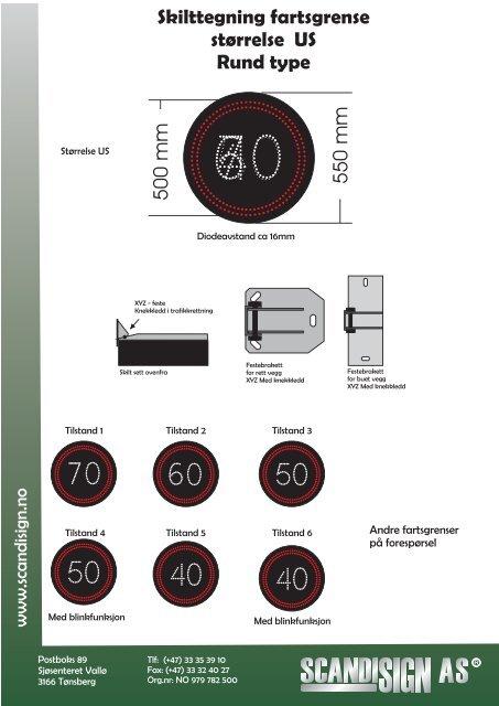 Mer info her (pdf 4mb) - Euroskilt AS