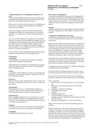Allmänna villkor för uppdrag 1 (5) gällande köp och ... - Nordea