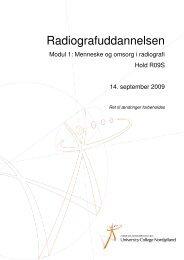 Radiografuddannelsen - University College Nordjylland
