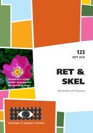 Sep. 123 - Foreningen af Hegnsyn i Danmark