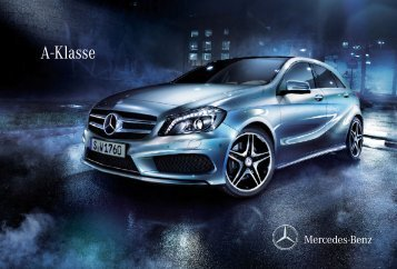 A-Klasse - Mercedes Benz