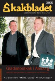 Gladiatorskak i Aalborg - Dansk Skak Union