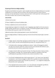 Evaluering af elevernes alsidige udvikling: - Rungsted Private ...