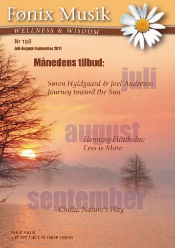 juli august september - Fønix Musik