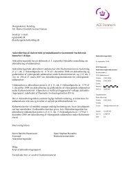 Akkreditering af bacheloruddannelsen i design ved Designskolen i ...