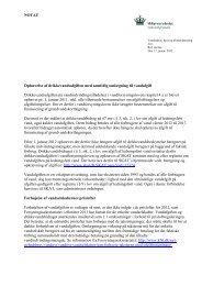 Notat om ophævelse af drikkevandsafgiften med ... - Naturstyrelsen