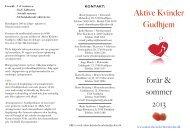 AKG program forår-sommer 2013
