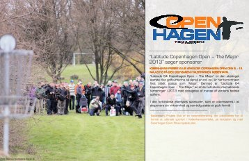 """Latitude Copenhagen Open – The Major 2013"""" søger sponsorer"""
