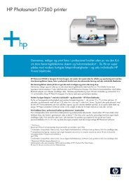 HP Inkjet Datasheet - Lomax