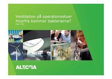Ventilation på operationsstuer Hvorfra kommer bakterierne?