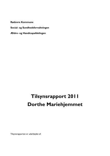 Tilsynsbesøg Rødovre Kommune 2011 - Mariehjemmene