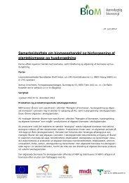 Samarbejdsaftale mellem biogasanlæg og ... - AgroTech