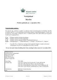 PRISLISTE for SKOVFRØ (pdf-fil) - Naturstyrelsen