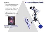 Q uick G uide i brug af teleskop