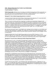 FAQ – Biogasanlæg placering i landzone og ... - Naturstyrelsen