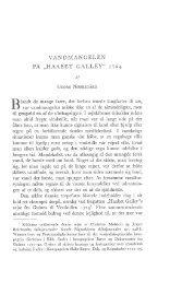 Vandmanglen på HAABET GALLEY, 1724, s. 41-55