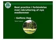 Golfens Dag - Dansk Golf Union