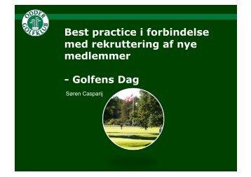 Golfens Dag - Dansk Golf Union