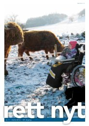 nr. 1 · marts 2012 · 24. årgang - Landsforeningen Rett Syndrom