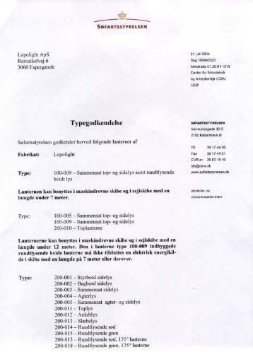 Typegedkendelse - Polaris-as.dk