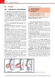 40 Hernien 40.1 Definitionen und Einteilung