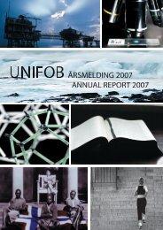Unifob Petroleum - Sars International Centre for Marine Molecular ...