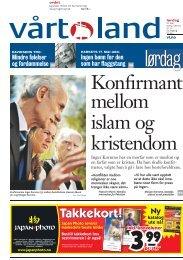 Vårt Land 16. mai - Norges Bygdeungdomslag